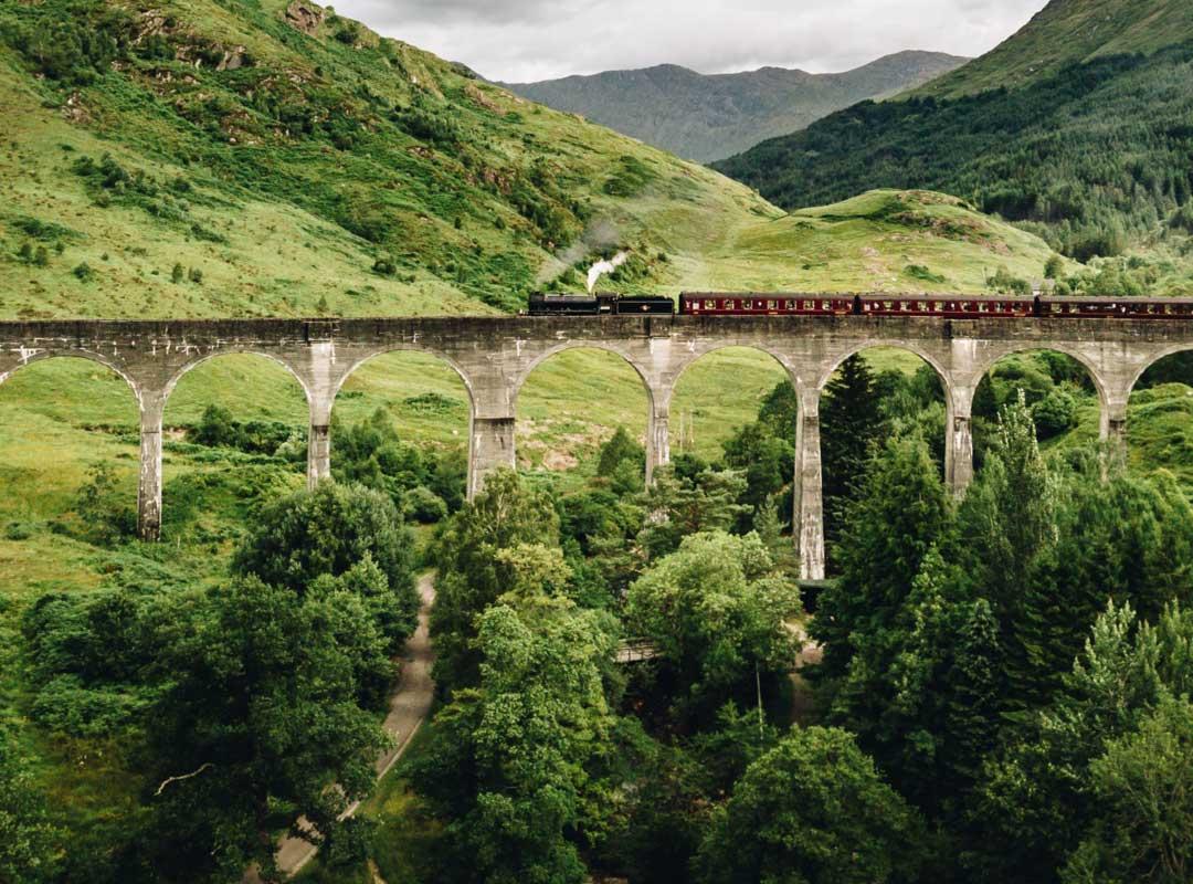 hållbart transporttåg
